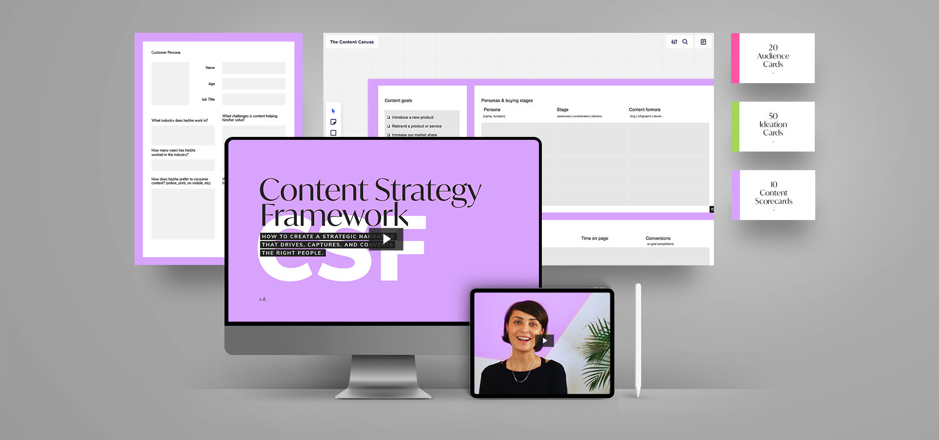 Introducing the Content Strategy Framework