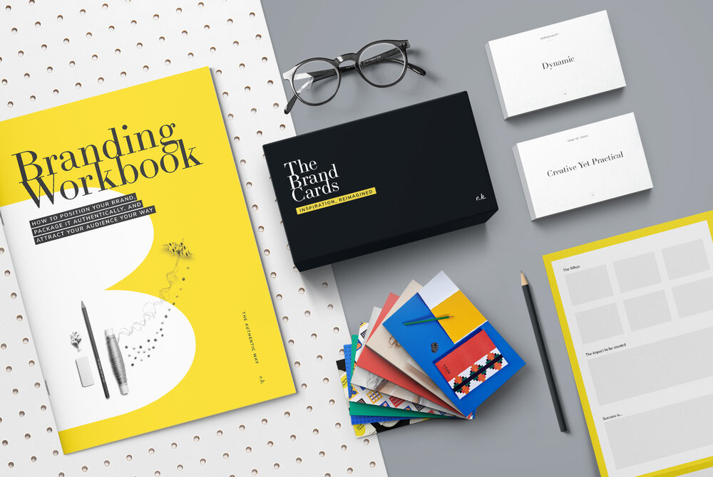 The Brand Strategy Kit - The Brand Strategy Kit will help you to facilitate the brand strategy sessions in a successful and playful manner.