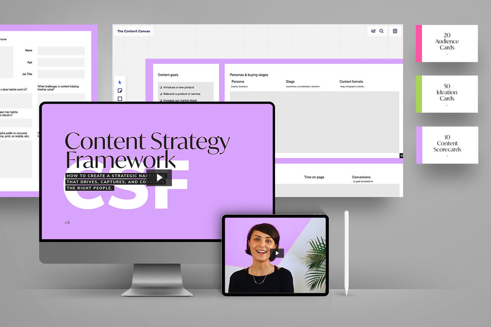 Discover the  Content Strategy Framework