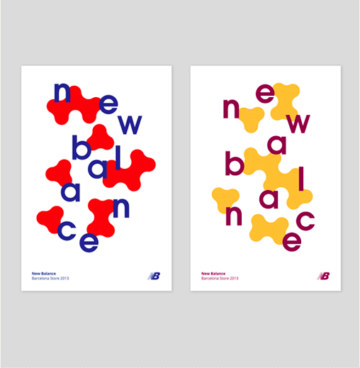 Posters for  New Balance  designed by  Fino-Studio  (Spain).