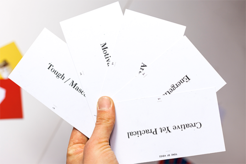 The Brand Personality Cards >>